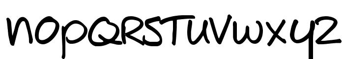 JoeShmoe Font LOWERCASE
