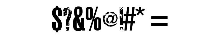 Joels Ragged Font Font OTHER CHARS