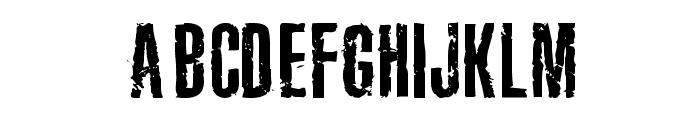 Joels Ragged Font Font UPPERCASE