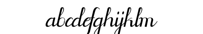 Jofi Font LOWERCASE
