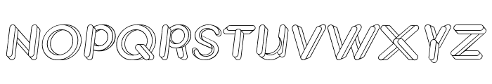 JohanVaaler Italic Font UPPERCASE