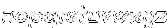 JohanVaaler Italic Font LOWERCASE