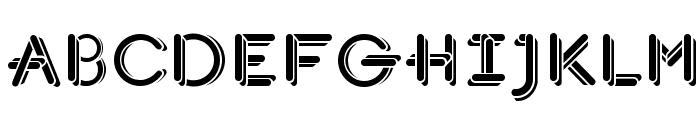 JohanVaaler Solid Font UPPERCASE