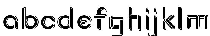 JohanVaaler SolidBold Font LOWERCASE