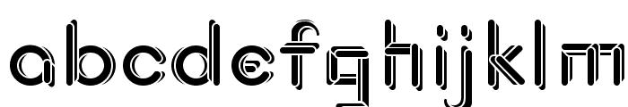 JohanVaaler Solid Font LOWERCASE