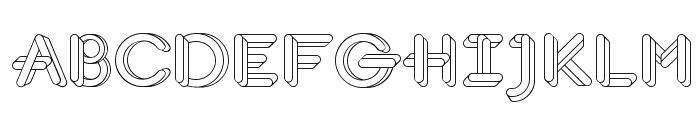 JohanVaaler Font UPPERCASE