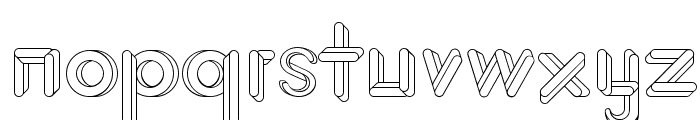 JohanVaaler Font LOWERCASE
