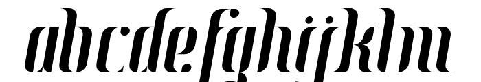 Johanna Italic Font LOWERCASE