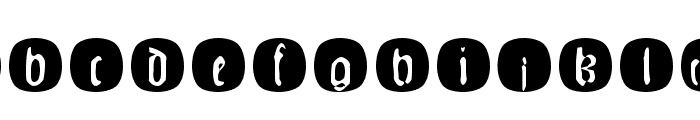 JohannesGLastTraces Font LOWERCASE