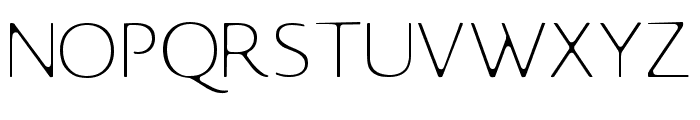 Johansson Sans Font UPPERCASE