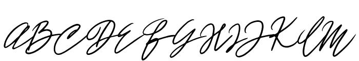 John Bulgarry Font UPPERCASE