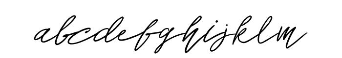 John Bulgarry Font LOWERCASE