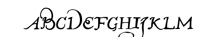 John Speed Demo Font LOWERCASE
