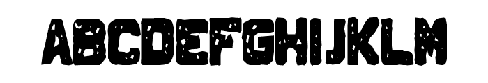 Johnny Homicide Font LOWERCASE