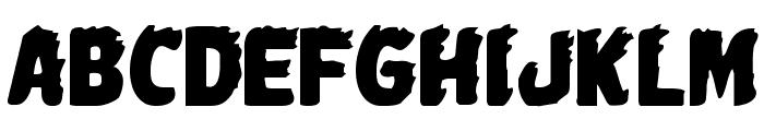 Johnny Torch Regular Font UPPERCASE