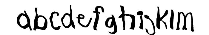 JohnnyBoy Font LOWERCASE