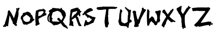 John's 1000 Hurts [Demo] Font UPPERCASE