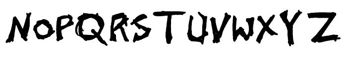 John's 1000 Hurts Font UPPERCASE