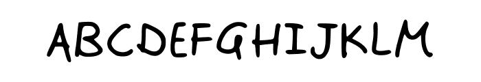 Johnsonscript Font UPPERCASE