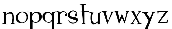 Johnyokonysm Font LOWERCASE