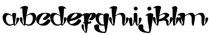 Joker Shoes Font LOWERCASE