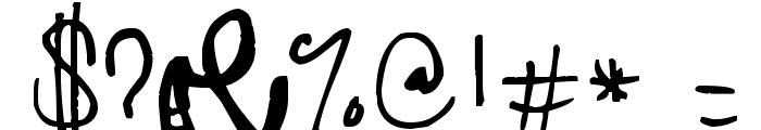 Jolly Beggar Font OTHER CHARS