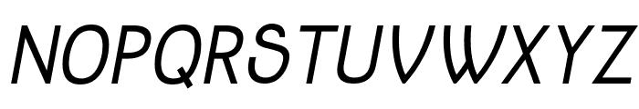 Jolly Bold Italic Font UPPERCASE