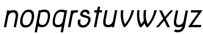 Jolly Bold Italic Font LOWERCASE