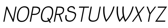 Jolly Italic Font UPPERCASE
