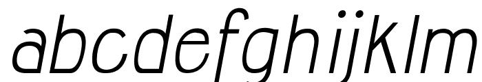 Jolly Italic Font LOWERCASE