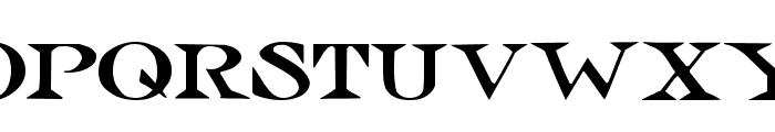 Jolly Roger Font UPPERCASE