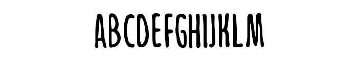 Jollysight Sans Regular Font UPPERCASE