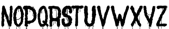Joly Death Font UPPERCASE