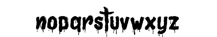 Joly Death Font LOWERCASE