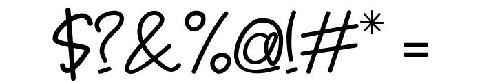 Jomblo-Ngenes Font OTHER CHARS
