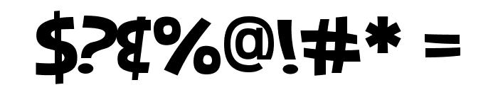 Jones Combo Font OTHER CHARS