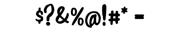 Jonny Quest Classic Font OTHER CHARS