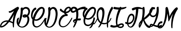 Jonquilles Font UPPERCASE