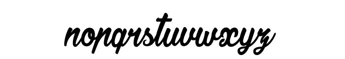 Jonquilles Font LOWERCASE