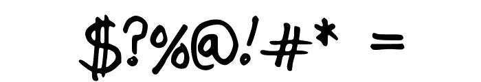 JordFont Font OTHER CHARS