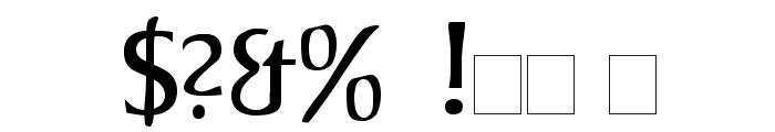 Jorvik Informal Font OTHER CHARS