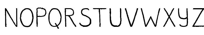JoseRegular Font UPPERCASE