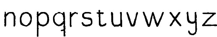 JoseRegular Font LOWERCASE