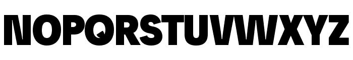 Josef Pro Bold Black Font UPPERCASE