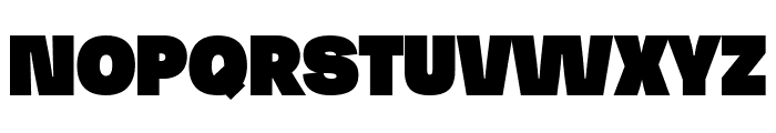 Josef Pro Bold Ultra Font UPPERCASE