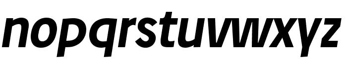 Josef reduced Bold Italic Font LOWERCASE