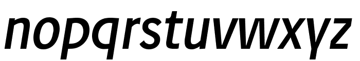 Josef reduced Regular Italic Font LOWERCASE