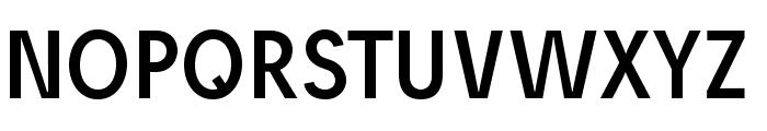 Josef reduced Font UPPERCASE