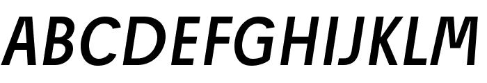 JosefPro-Italic Font UPPERCASE