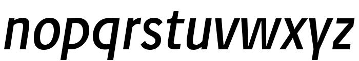 JosefPro-Italic Font LOWERCASE